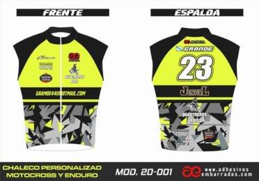 Chaleco Enduro Personalizado Mx – 001