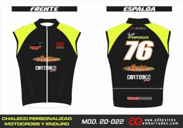 Chaleco Enduro Personalizado Mx – 022