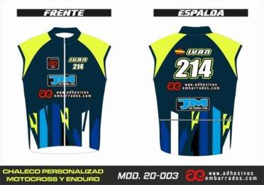 Chaleco Enduro Personalizado Mx – 003