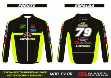 Cortavientos Enduro Personalizado Mx – 011