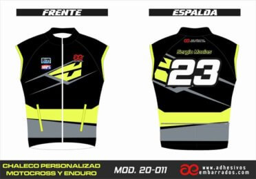 Chaleco Enduro Personalizado Mx – 011