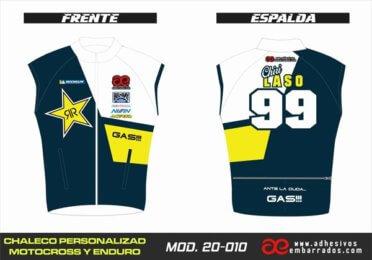 Chaleco Enduro Personalizado Mx – 010