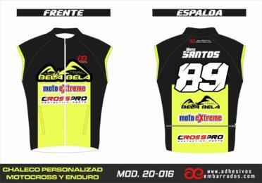 Chaleco Enduro Personalizado Mx – 016