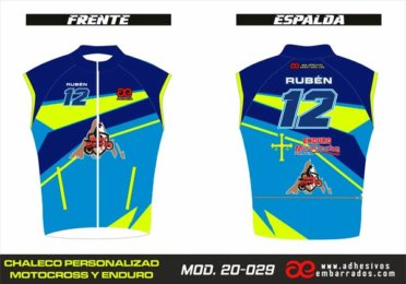 Chaleco Enduro Personalizado Mx – 029