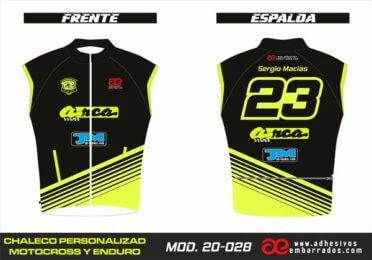 Chaleco Enduro Personalizado Mx – 028