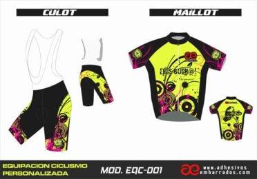 Equipacion Ciclismo EQC – 001