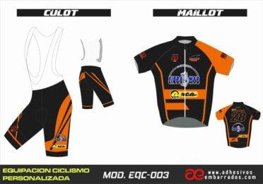 Equipacion Ciclismo EQC – 003