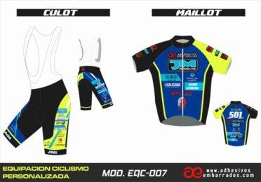 Equipacion Ciclismo EQC – 007
