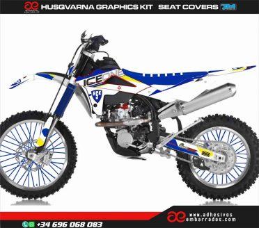 Adhesivos Husky Motocross